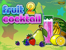 Fruit Cocktail 2 на зеркале клуба