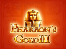 Pharaohs Gold III на зеркале клуба